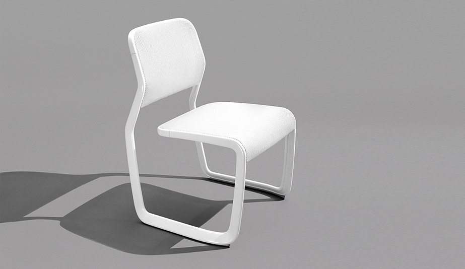 Newson Aluminum Chair by Knoll