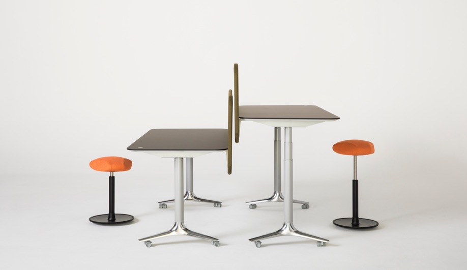 Nienkamper furniture launches at NeoCon 2018: The Gateway Height-Adjustable Table, byBusk + Hertzog