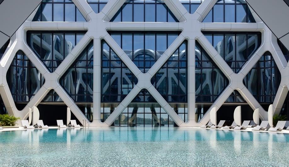 Zaha Hadid Architects Morpheus Hotel In Macau Azure