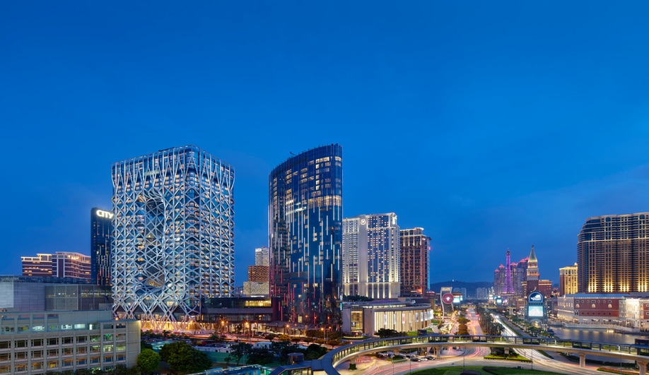 Zaha Hadid Architects' Morpheus Hotel in Macau.
