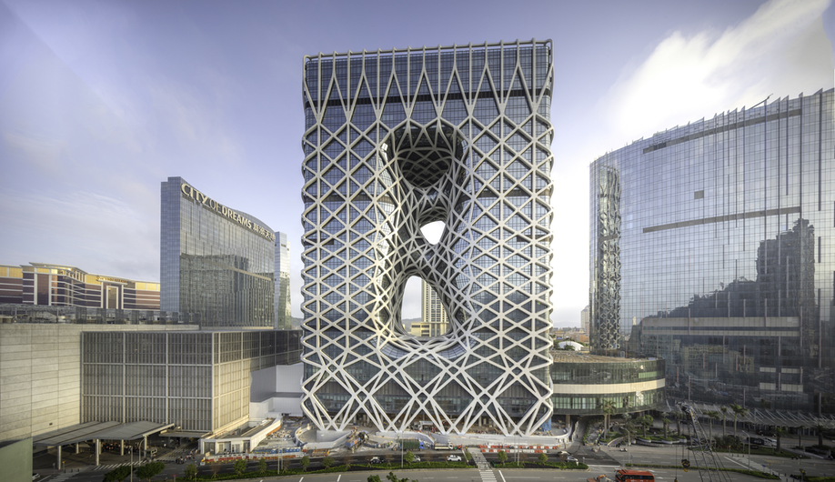 Zaha Hadid Architects' Morpheus Hotel in Macau
