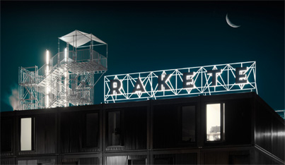 3D Lettering on Buildings