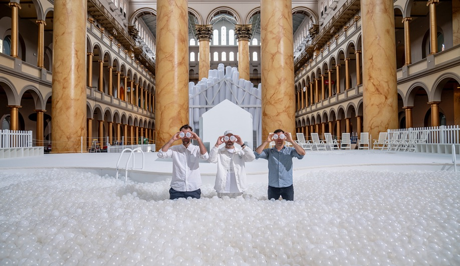 Snarkitecture's Fun House Opens at the National Building Museum