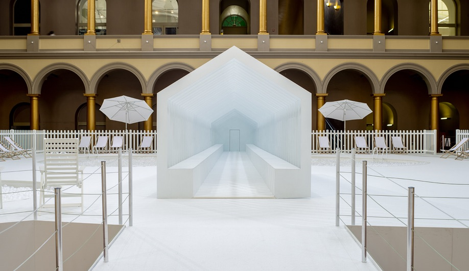 Playhouse in Snarkitecture's Fun House