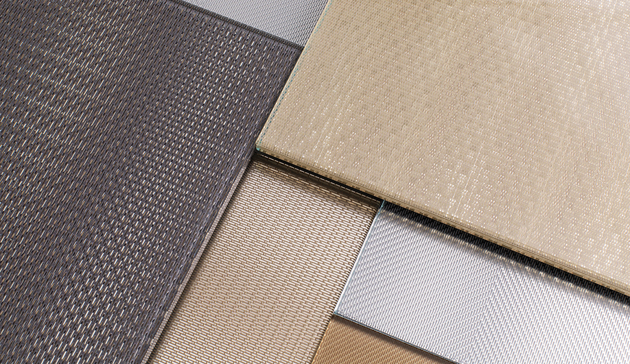ViviTela Mesh Brings the Rich Look of Woven Metal to Glass
