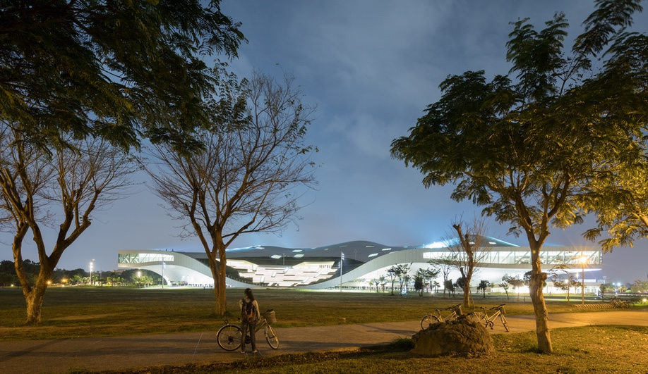 Mecanoo's Performance Arts Centre in Taiwan
