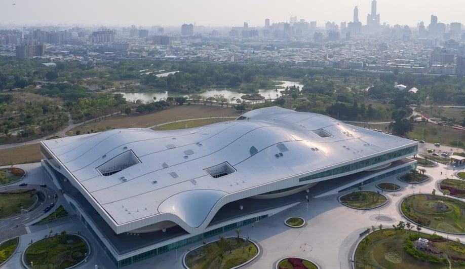 Mecanoo's Performance Arts Centre in Taiwan Raises the Roof