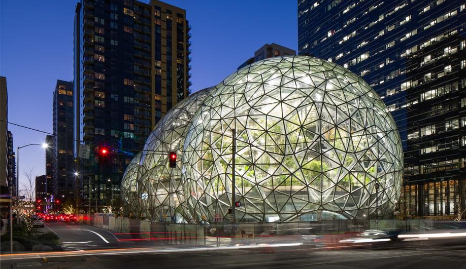 Amazon's Spheres in Seattle