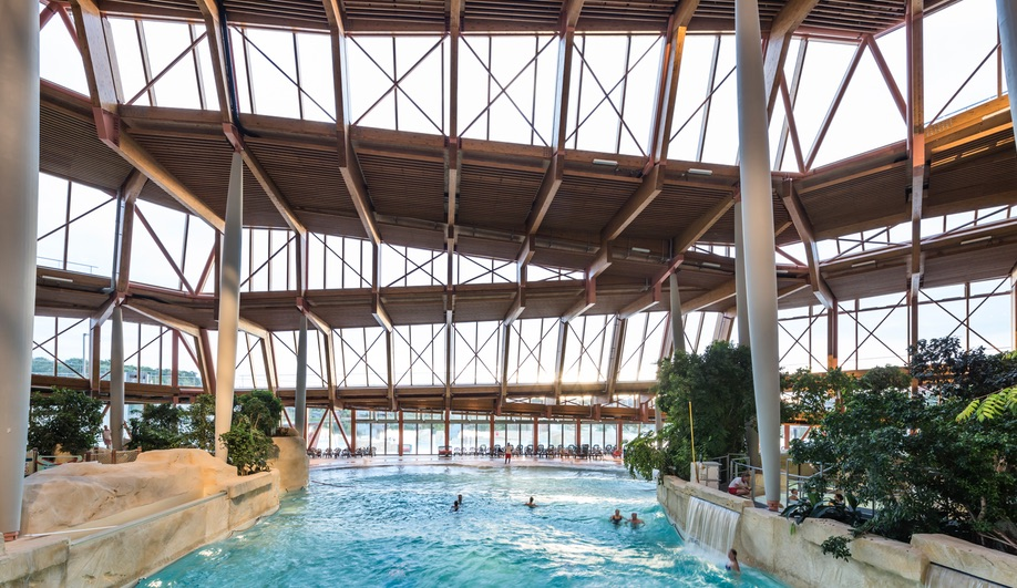 Architect Jacques Ferrier's Water Park Aqualagon