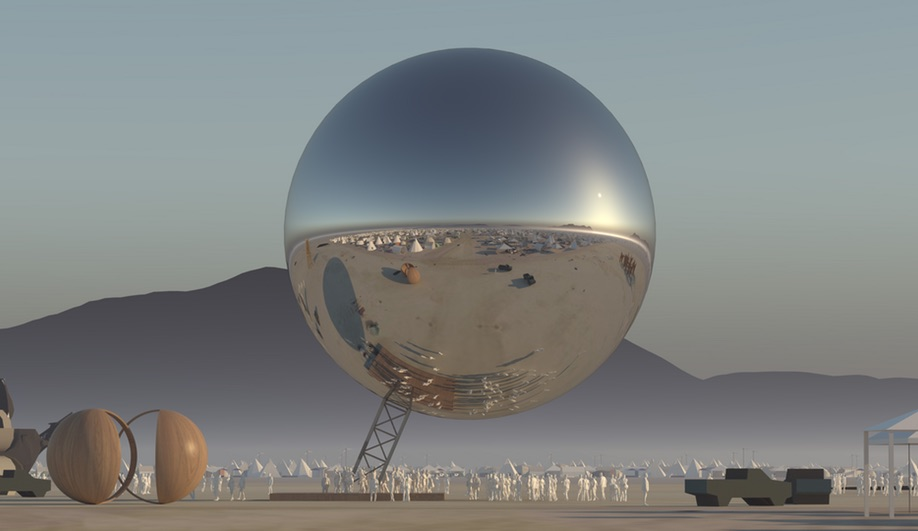 This Surreal Bjarke Ingels Orb May Be Heading to Burning Man