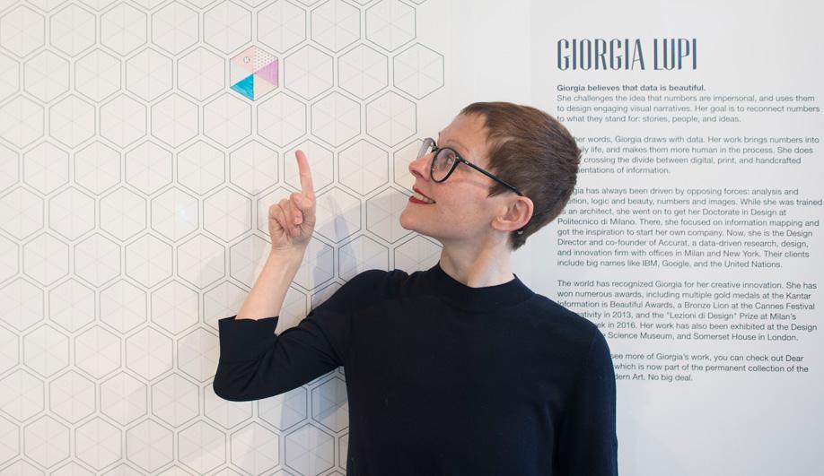 Information designer Giorgia Lupi