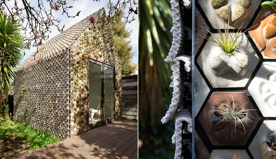 Sustainable cladding: 3D-Printed Composites
