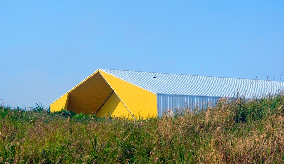 A Nunavik Cultural Centre With an Iceberg-Inspired Facade