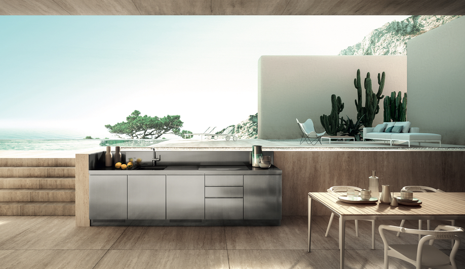 Contemporary Outdoor Kitchens: The Abimis Outdoor Kitchen