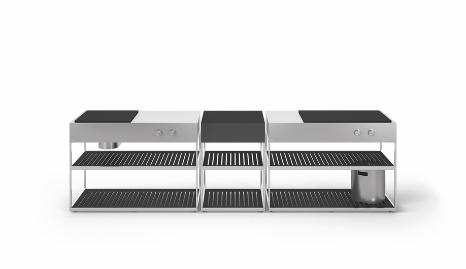 Contemporary Outdoor Kitchens: Boffi AH-01