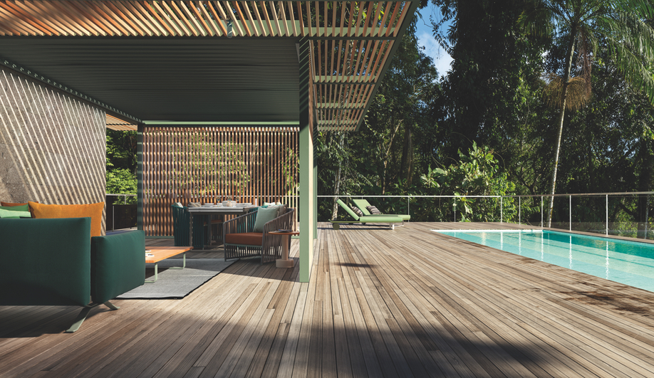 Contemporary Outdoor Kitchens: The Kettal PH1 Pavilion