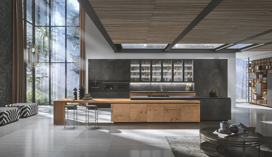 Meet Elegante Bespoke, Snaidero USA's New Luxury Collection of Kitchen Cabinetry