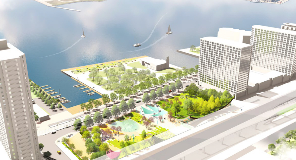 Toronto's New Waterfront Parks: Rees Landing