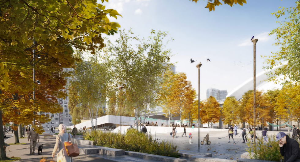 Toronto's New Waterfront Parks: The Nest