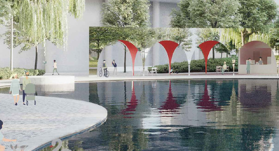 Toronto's New Waterfront Parks: Love Park