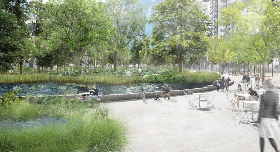 Toronto's New Waterfront Parks: York Forest