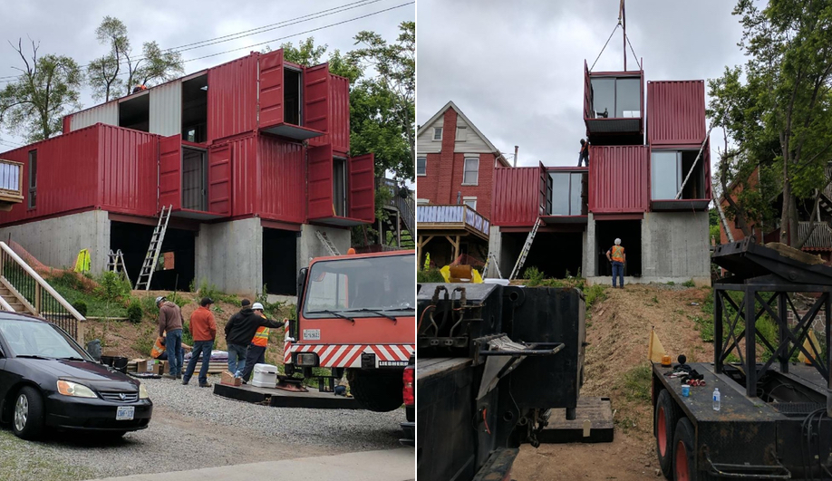 Wonder Inc.'s Hamilton shipping container home