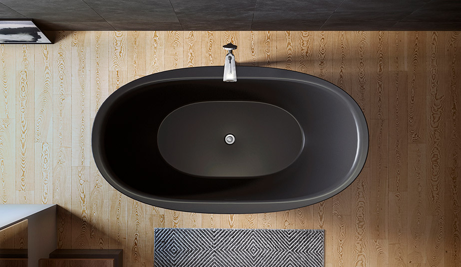 Purescape 171 Freestanding Tub by Aquatica Bath