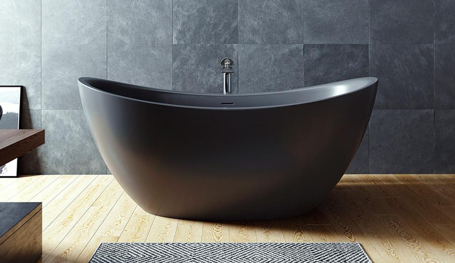 Purescape 171 Freestanding Tub by Aquatica Bath