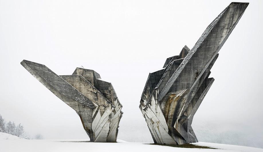 Miodrag Živković. Monument to the Battle of the Sutjeska. 1965–71, Tjentište, Bosnia and Herzegovina. Photo by Valentin Jeck, commissioned by The Museum of Modern Art, 2016