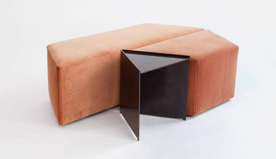 Georgie Ottoman by Egg Collective