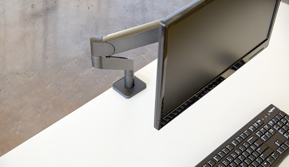 Swerv Monitor Arm by Teknion