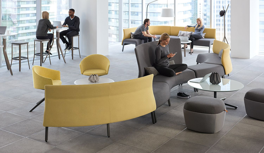 Zones Modular Seating by Teknion