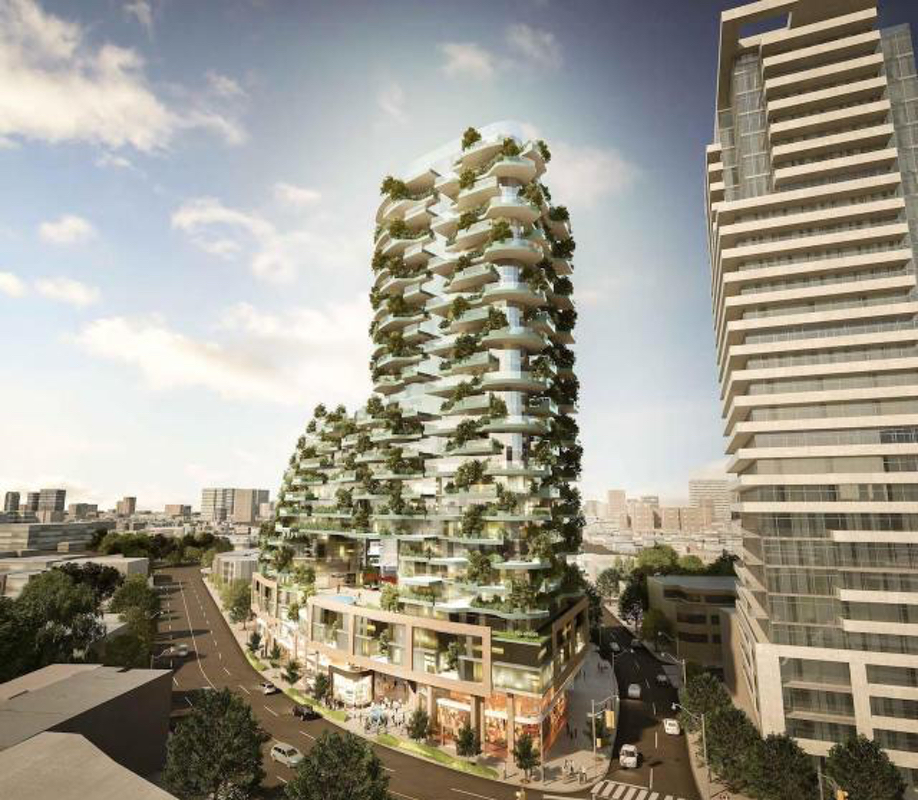 Green towers and vertical forests: Designers Walk in Toronto