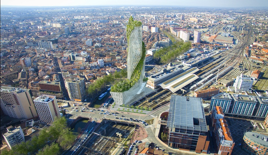 Green towers and vertical forests: Occitanie in Tolouse