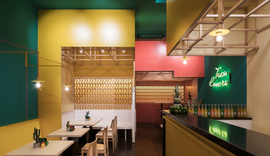 Erbalunga Estudio's  Sierra Madre Reflects the Vibrancy of the Food it Dishes Up