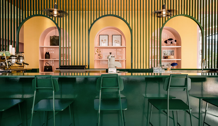 In Montreal, Triple Threat Pastel Rita Serves as Workshop, Boutique and Café