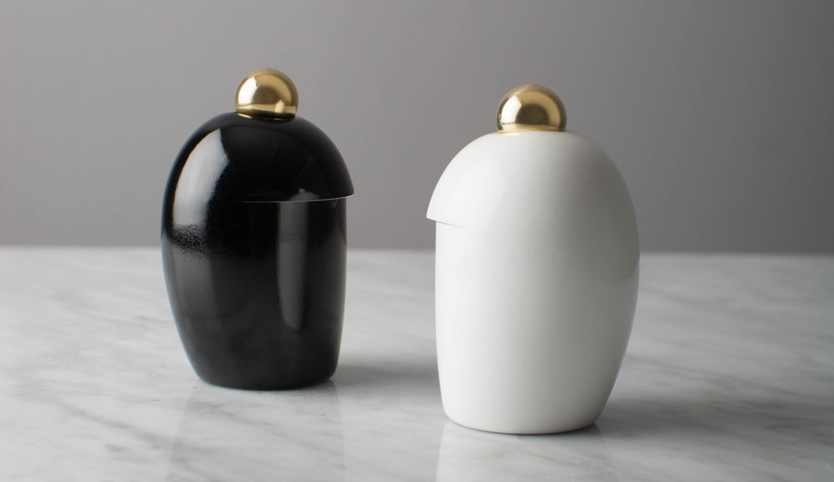 Maison & Objet Fall 2018 Lighting and Accessory Launches: Salt/Pepper Vessels by Lukas Peet Design