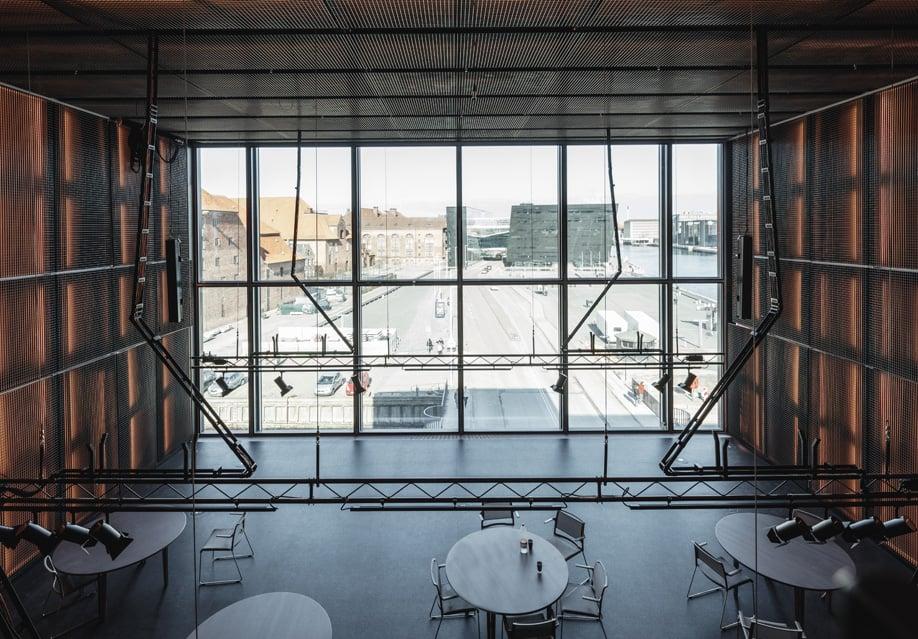 In Copenhagen, OMA's BLOX building overlooks a busy roadway