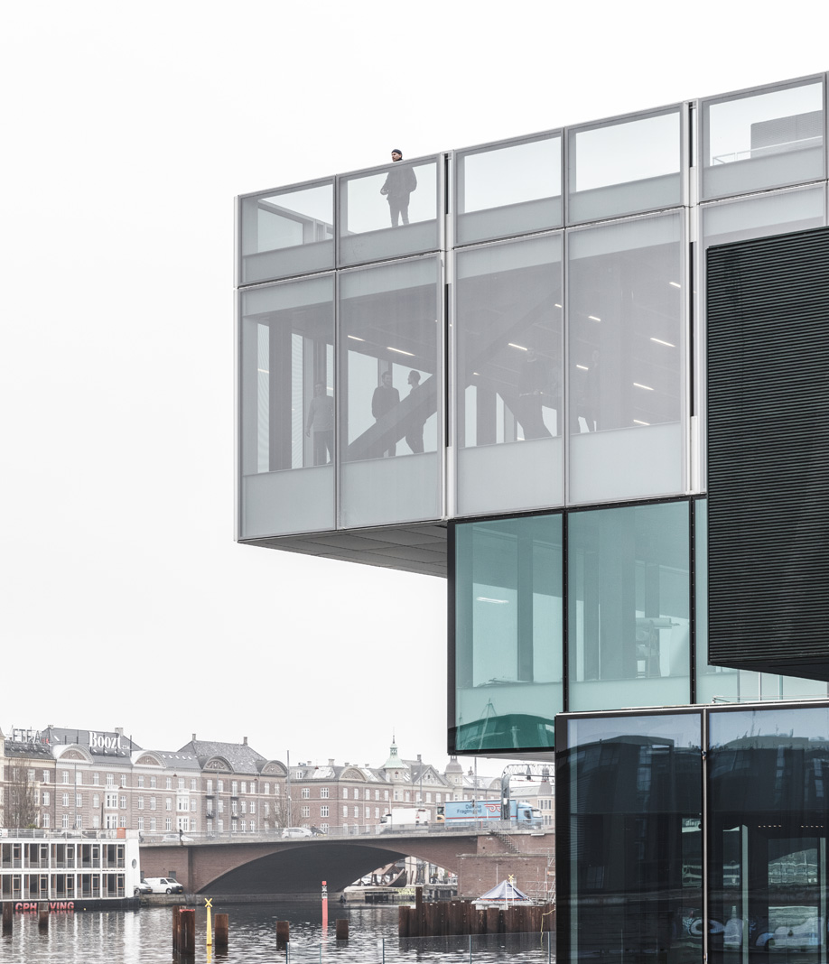 In Copenhagen, OMA's BLOX building features a public rooftop terrace