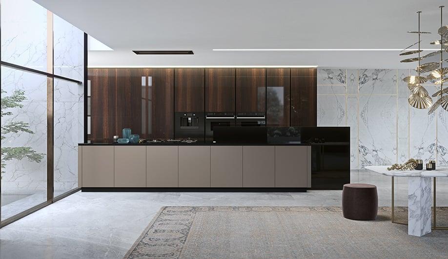 E05 | E06 Elegante Bespoke Kitchen by Snaidero USA