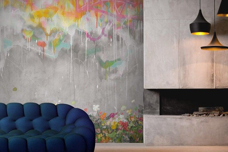 Graffiti Wall Murals by Feathr