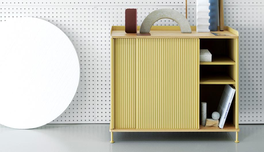 Scandinavian design collaborations: Knoll + Muuto