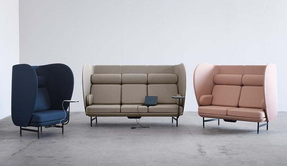 Plenum Seating by Fritz Hansen