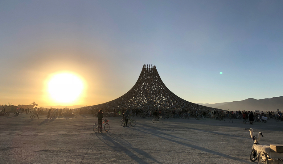 The architecture of Burning Man: