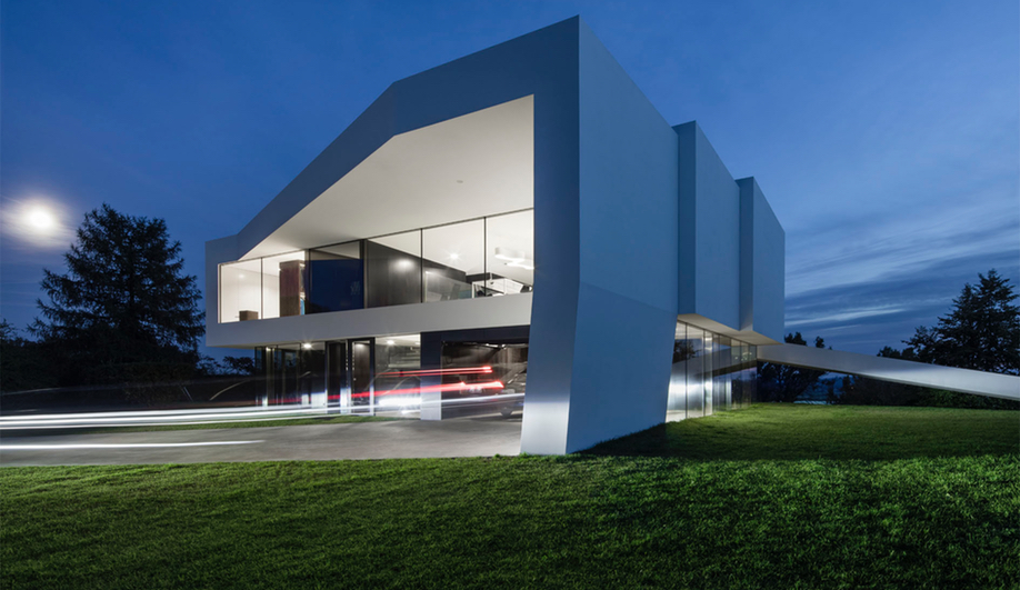 A view of By the Way House, designed by KWK Promes