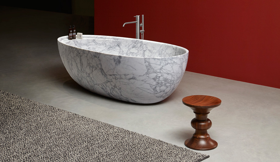 Eclipse Marble Tub by Antonio Lupi