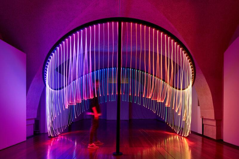 Flynn Talbot's Full Spectrum installation