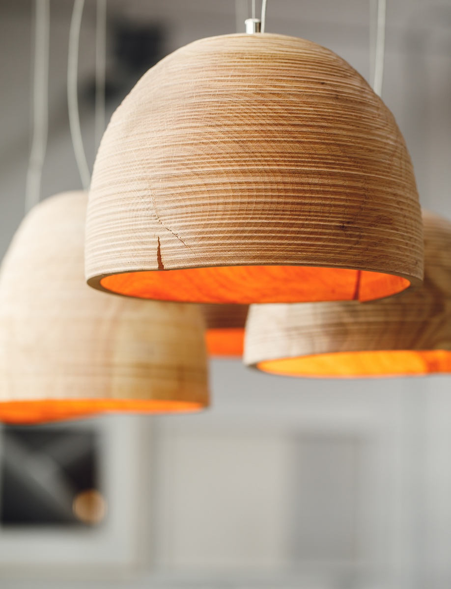 A glimpse at Address Assembly, founded by Vancouver designer Kate Duncan: Propellor Design's Turn lights