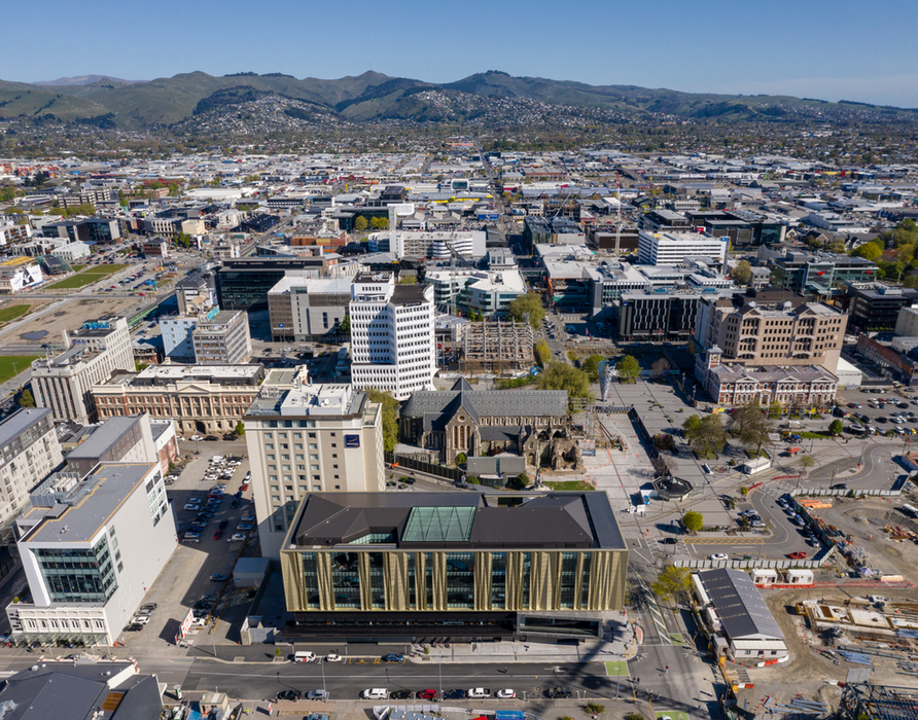 Tūranga is the new central library in Christchurch