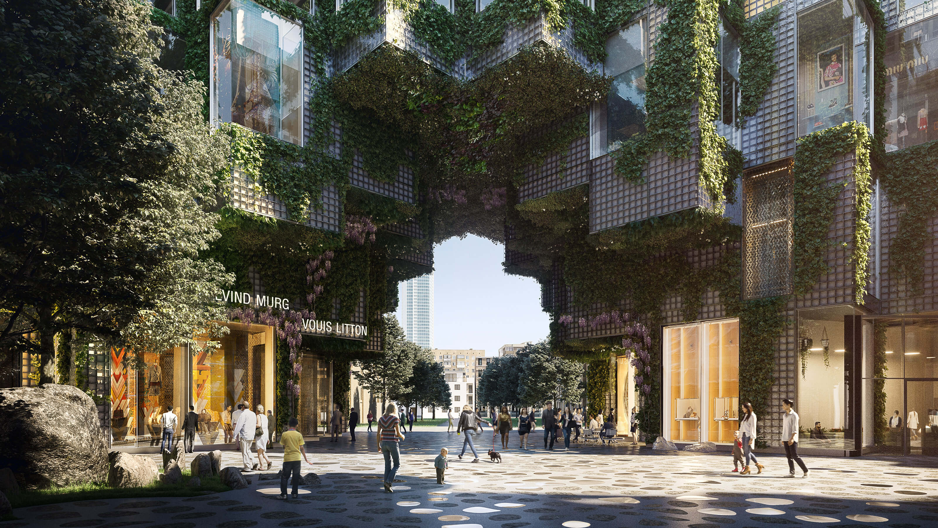 BIG Unveils New Renderings - and Interior Designs - for KING Toronto Condos